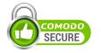 Site secured by Comodo SSL